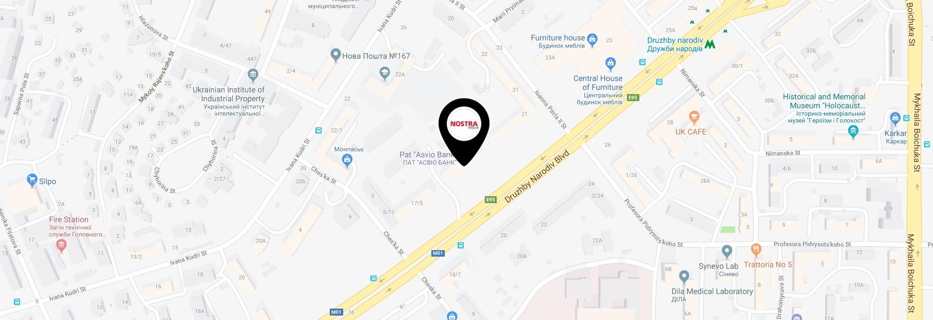 'Nostra Media' office location